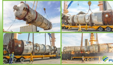 FLS DELIVERS MORE EQUIPMENT FOR A PAPER PULP PRODUCTION PLANT FROM SPAIN TO THAILAND