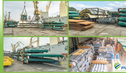 FLS VIETNAM SENDS HRSG CASINGS AND BREAK BULK TO SOUTH AMERICAN CUSTOMER!