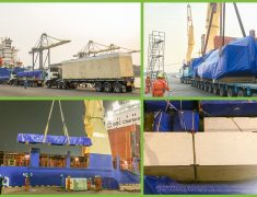 FLS THAILAND LOADS HEAVY EQUIPMENT AND PARTS FOR A STEEL FACTORY BOUND FOR AUSTRALIA