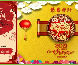 WE WISH YOU A VERY HAPPY AND PROSPEROUS LUNAR NEW YEAR 2019!