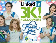 FLS REACHED ANOTHER MILESTONE WITH OVER 3,000 FOLLOWERS ON LINKEDIN!