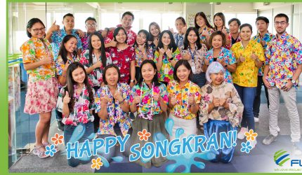 HAPPY THAI NEW YEAR AND A WET AND REFRESHING SONGKRAN FESTIVAL 2019!