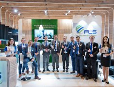 FLS'S BOOTH AT THE BREAKBULK EUROPE 2019 IN BREMEN, GERMANY