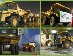FLS PROJECTS INDONESIA DELIVERING 7 DUMP TRUCKS TO DESTINATIONS IN ASIA.