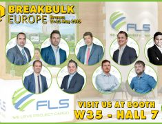 FLS PROJECTS AT BREAKBULK EUROPE 2019 IN BREMEN, GERMANY