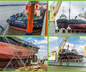 FLS PROJECTS VIETNAM MOVES 530-TON TUGBOATS FROM VIETNAM TO FRANCE