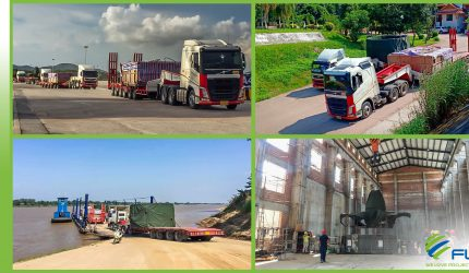 FLS PROJECTS' INTERNATIONAL ROAD TRANSPORT AND CUSTOMS CLEARANCE.