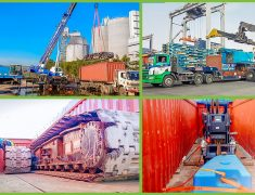 FLS PROJECTS SINGAPORE DELIVERING CRAWLER CRANE TO ABU DHABI