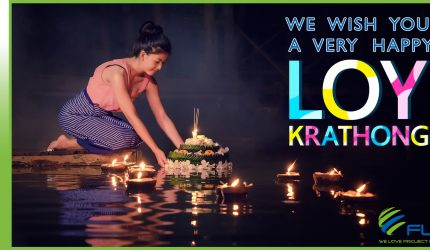 HAPPY LOY KRATHONG, THE ANNUAL FESTIVAL OF LIGHTS!