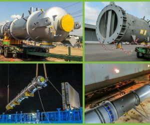 FLS PROJECTS THAILAND STARTS INTO 2020 WITH THE DELIVERY OF A 40 METERS LONG PURIFICATION TOWER FROM THAILAND TO SINGAPORE.