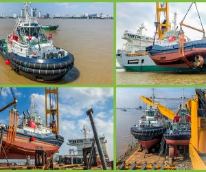 SECOND SHIPMENT OF 2 X 530 MT TUGS HAS BEEN SAFELY DELIVERED FROM VIETNAM TO THE PORT OF MARSEILLES.