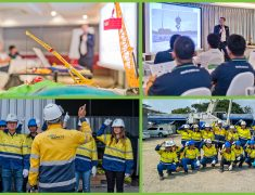 SAFETY IS A CHOICE WE MAKE TOGETHER! FLS PROJECTS HOLDS INTERNAL HSE TRAINING COURSE.
