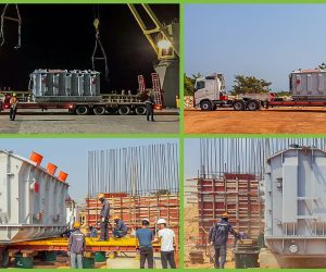 FLS DELIVERS POWER TRANSFORMER TO A REMOTE CONSTRUCTION SITE IN CAMBODIA.